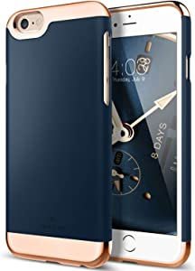 Caseology Savoy for Apple iPhone 6S Plus Case (2015) / for iPhone 6 Plus Case (2014) - Navy Blue
