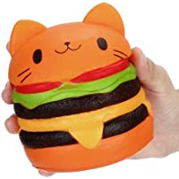 Soft Squishy Kawaii Chat Hamburger Squishy Stress Relief Squeeze