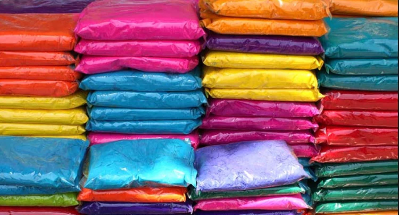CraZeeColors Holi Color Powder- 100 Assorted Vibrant Color Packets perfect for Marathon Races, Color run, Holi Color Party, Charity events, Color Wars, Color Theme Party