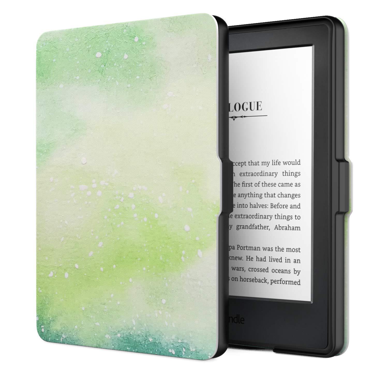 No es Compatible con el kinlde Paperwhite Funda de SmartShell M/ás Delgada y Ligera con Auto Sue/ño//Estela P/ájaro de Toucan MoKo Funda para Kindle 8th Generaci/ón