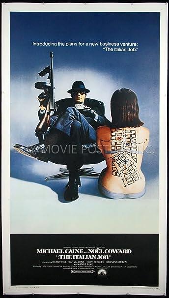 THE ITALIAN JOB VINTAGE MOVIE POSTER FILM A4 A3 ART PRINT CINEMA