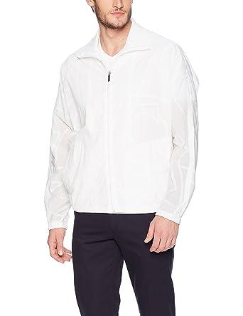 2064b994fcc1 Perry Ellis Men s Lightweight Sheer Nylon Bomber at Amazon Men s Clothing  store