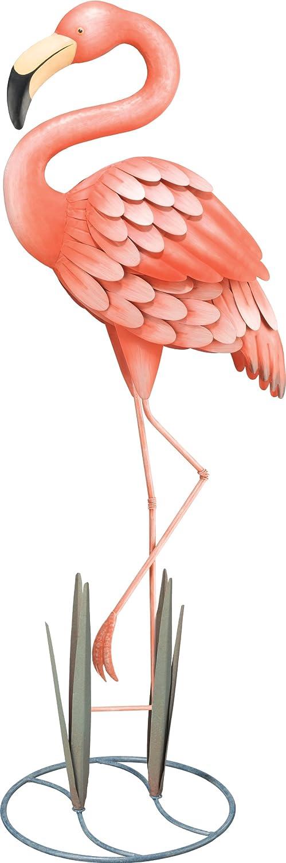 Amazon.com : Regal Art U0026 Gift Standing Flamingo Garden Decor, Large : Garden  Stakes : Garden U0026 Outdoor