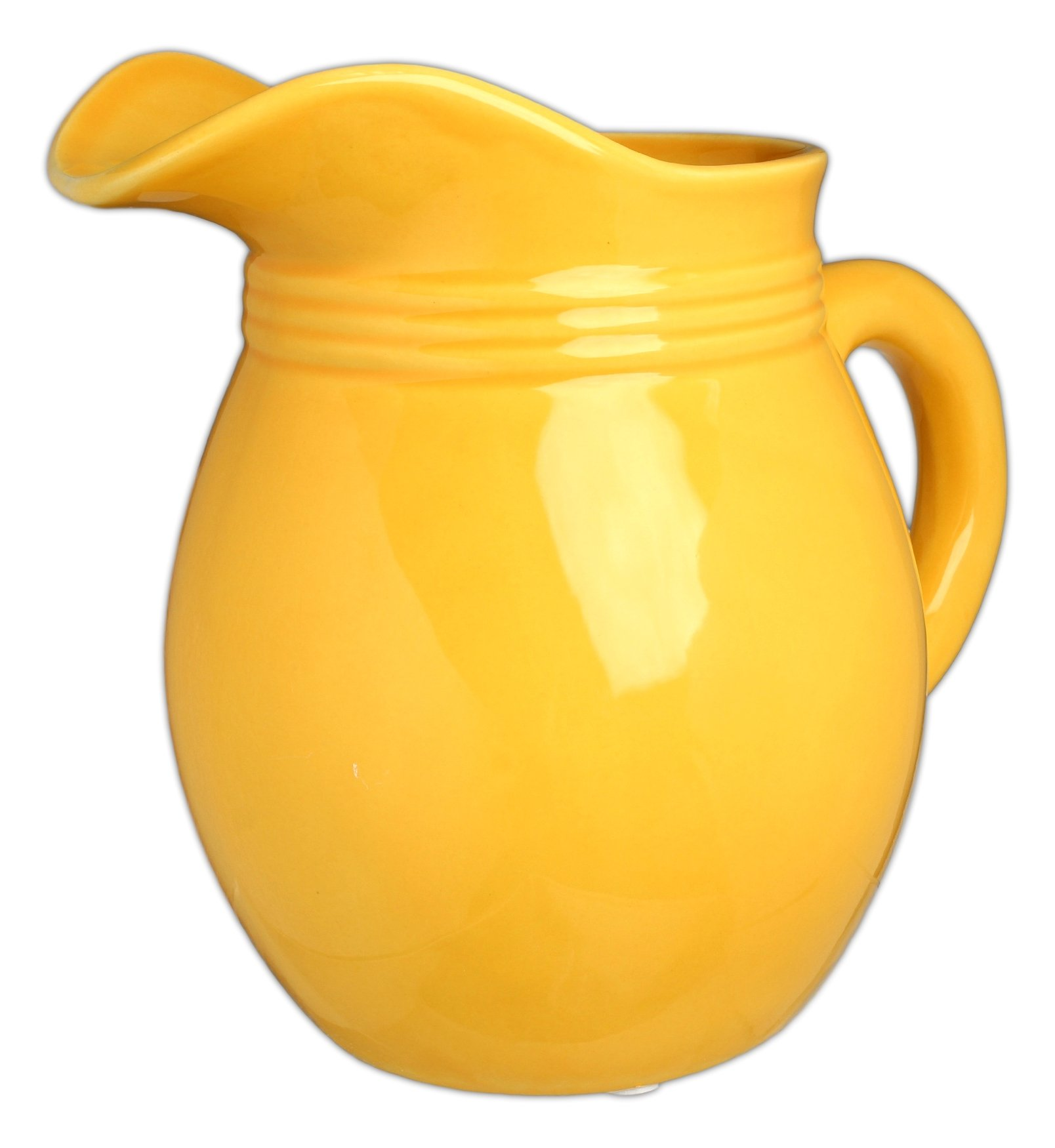 Hill's Park's 6.25'' x 6'' Golden Yellow Decorative Pitcher by Hill's Park's