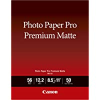 Canon Office Products PM-101 LTR_50 Premium Photo Paper (8657B004)