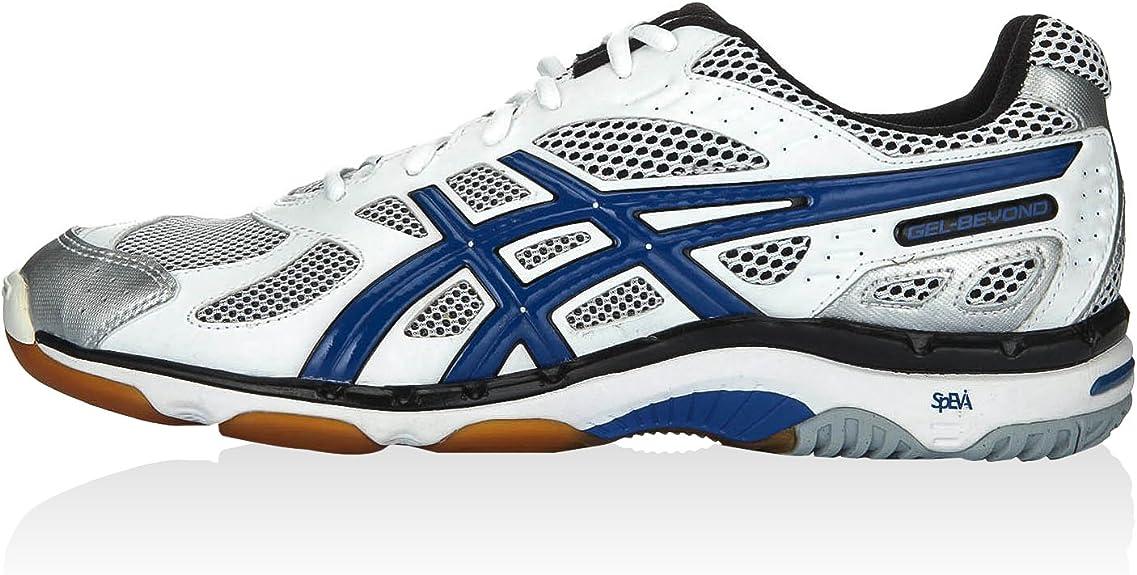 Asics Zapatillas Performance Gel-Beyond 3 Blanco/Azul/Negro EU 46 (US 11.5): ASICS: Amazon.es: Zapatos y complementos
