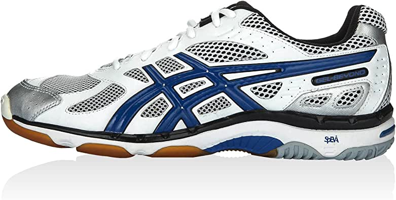 Asics Zapatillas Performance Gel-Beyond 3 Blanco/Azul/Negro EU 46 (US 11.5): ASICS: Amazon.es: Zapatos y complementos