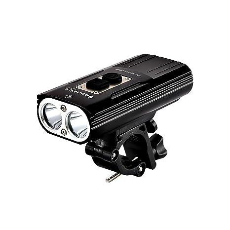 Soon Fire fd38s LED para bicicleta, luz muy clara impermeable ...