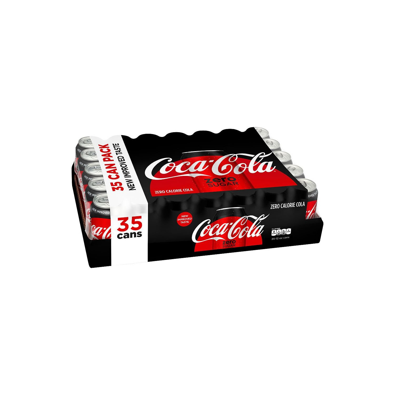 Coca-Cola Coke Zero Cans, 12 Ounce [35 Cans] by Coca-Cola
