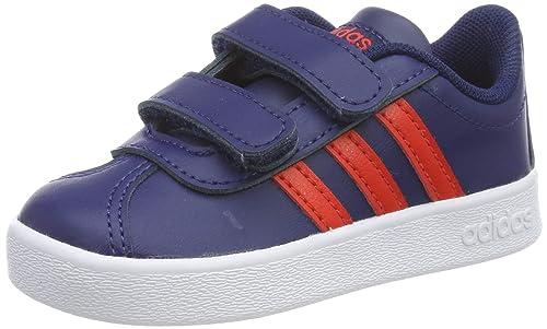 adidas VL Court 2.0 CMF I, Zapatillas de Estar por casa Unisex bebé: Amazon.es: Zapatos y complementos