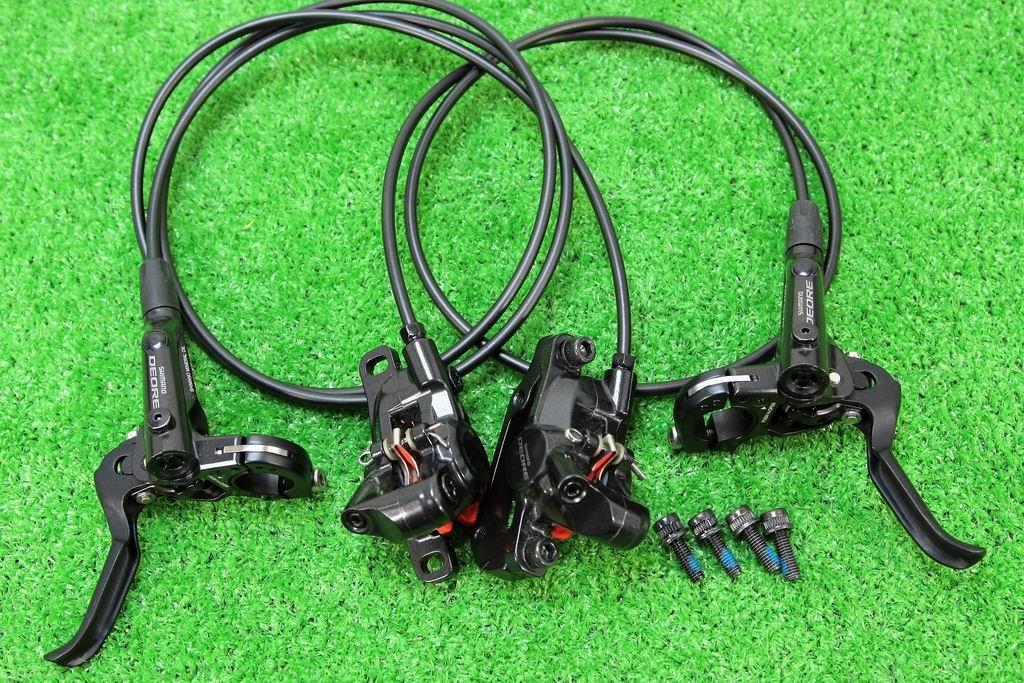 シマノ(SHIMANO) DEORE 高性能 油圧ディスクブレーキ BL-M6000 BR-M6000 ローター無 前後セット ブラック   B07DWSLXBJ