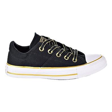 7d9031e66d85d1 Converse Chuck Taylor All Star Madison Ox Women s Shoes Black Gold 559908f (11  B