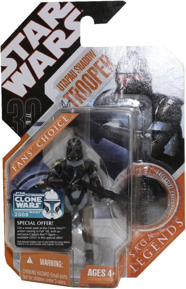 Utapau Shadow Trooper 2007 Star Wars 30th ANNIVERSARIO COLLEZIONE MOC #2