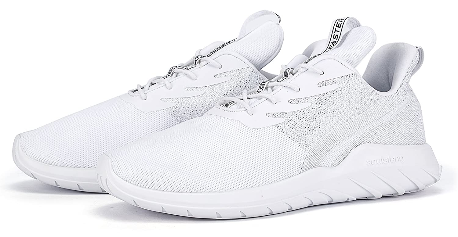 Soulsfeng Mens Breathable Athletic Sports Shoes Lightweight Casual Fashion Sneaker