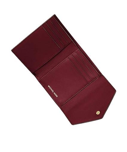 c48da955a959f MICHAEL Michael Kors Damen Blakig kleine Lederhülle Geldbörse Ein Größe Rot   Amazon.de  Schuhe   Handtaschen