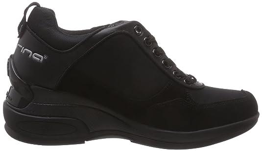 Fornarina DAILY, Sneakers basses femmes Noir Schwarz (BLACK 0000), 41 EU: : Chaussures et Sacs