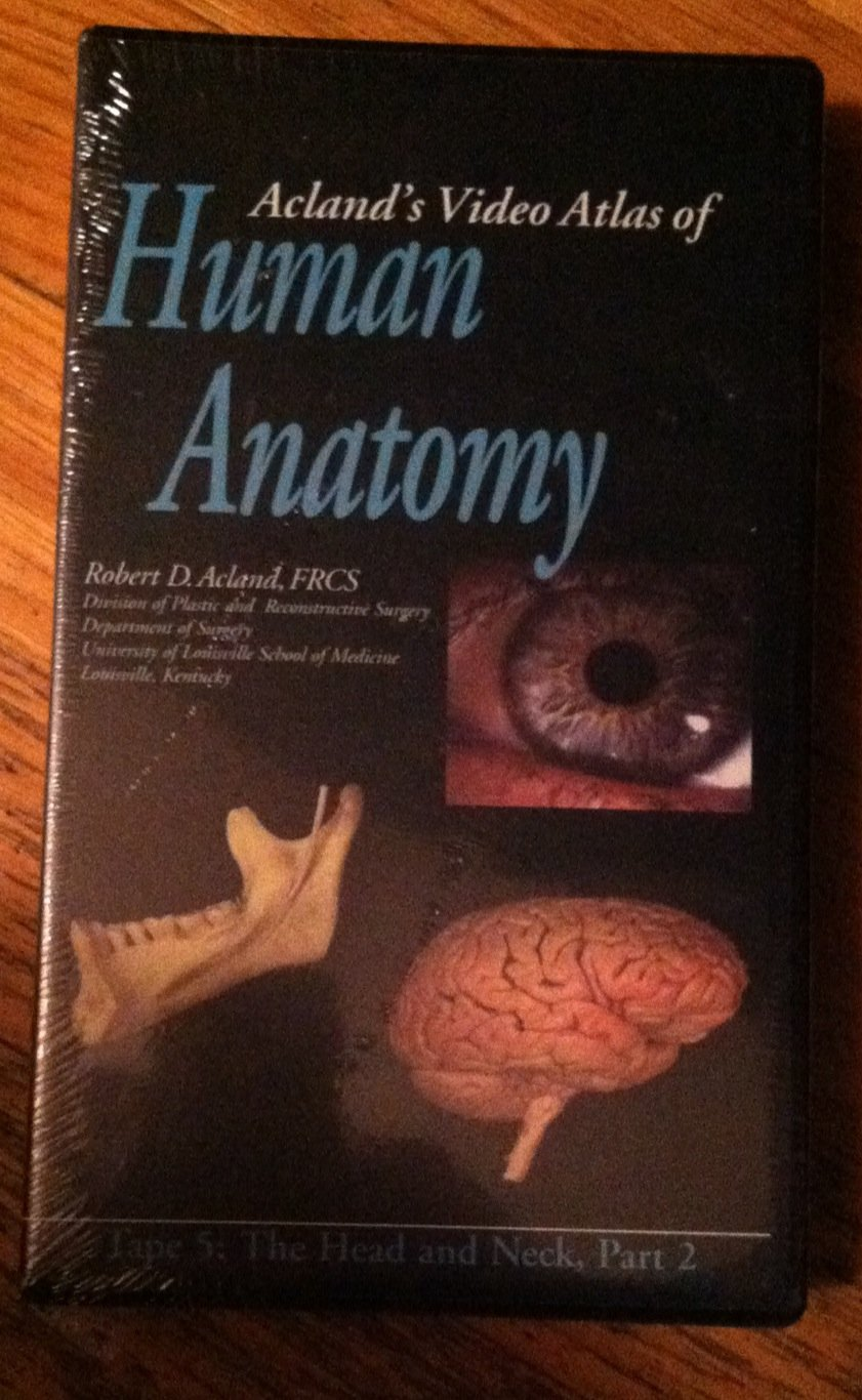 Acland\'s Video Atlas of Human Anatomy 5: The Head And Neck [VHS ...