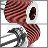 DNA MOTORING ITK-0048-RD Cold Air Intake System Red [for 04-11 Mazda