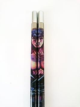 Alta calidad Anime palillos Hokuto no Ken (puño de la estrella del norte) hecha a mano en Japón (importación de Japón): Amazon.es: Hogar