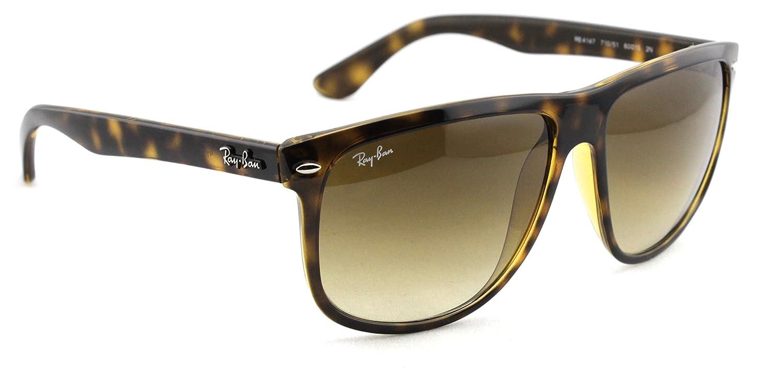 b68b1f42059b1 Ray-Ban RB4147 710 51 Sunglasses Tortoise   Light Brown Gradient Lens 60mm   Amazon.co.uk  Clothing