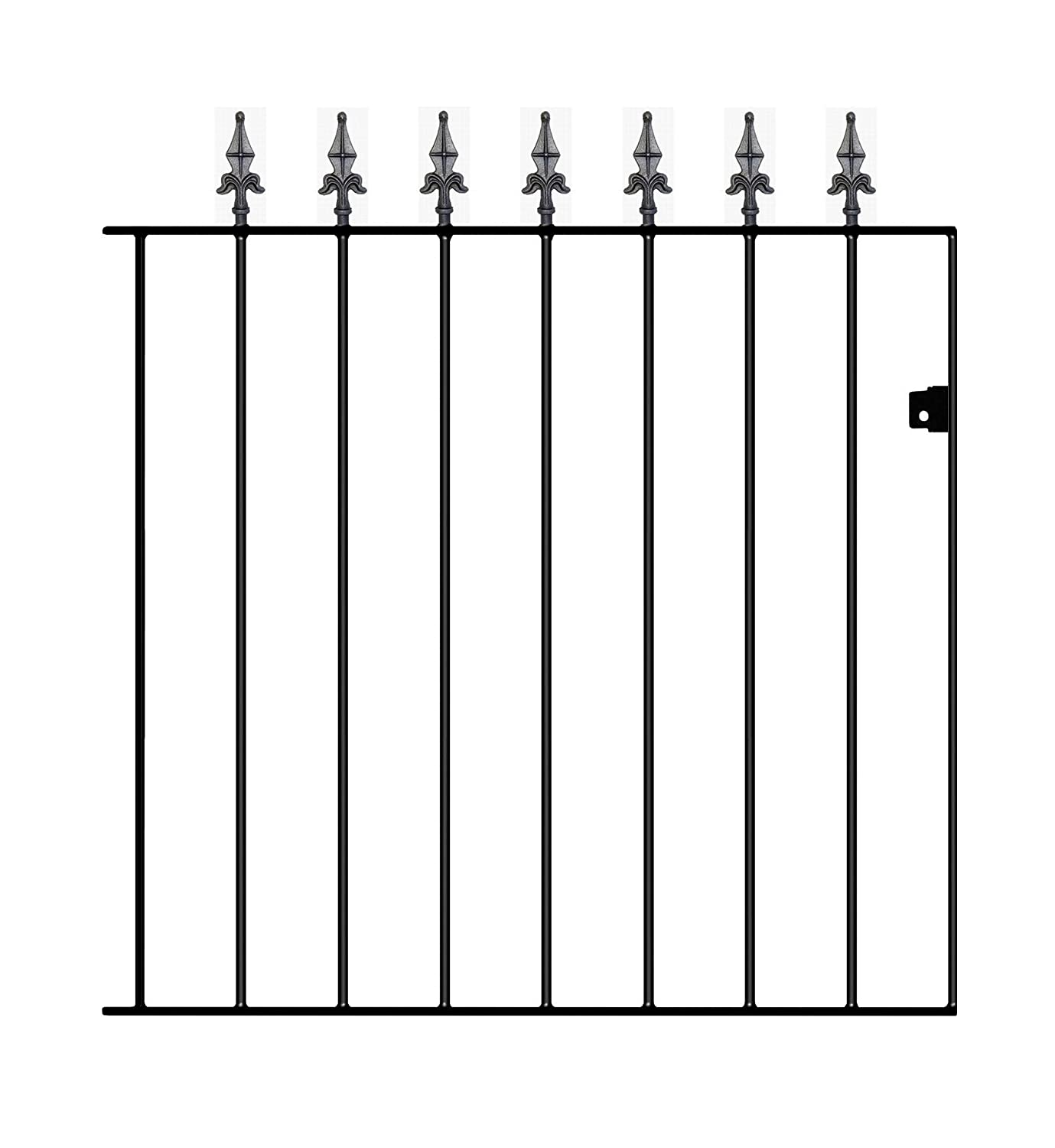 Gaelic Safety Spear Top Garden Gates 762mm (2'6