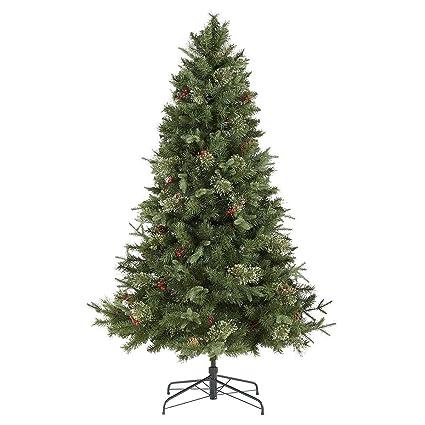 reputable site 3806c 16825 Tesco Luxury 6.5ft 150 LED Pre-lit Regency Fir Christmas ...