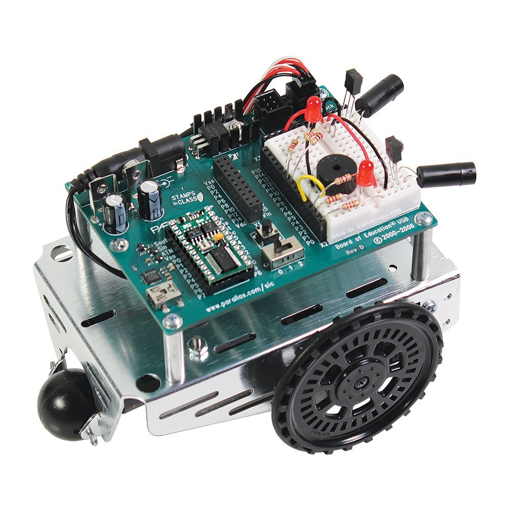 PARALLAX Boe Beginner Friendly Robot Kit | Serious Robotics Assembly and Re-programming Kit