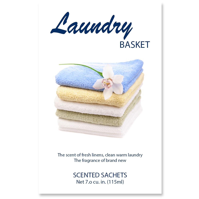 (LAUNDRY BASKET) - Scented Sachets Laundry Basket, 7.0 cu.in Pack of 4. B01L9VPZFI Laundry Basket Laundry Basket