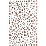 Decora 325 Gold Diamante Stick on Rhinestone Stickers Gems Cards and Self Adhesive Craft Bling