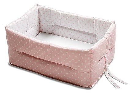 Italbaby Bebe - Reductor de cuna, color rosa: Amazon.es: Bebé