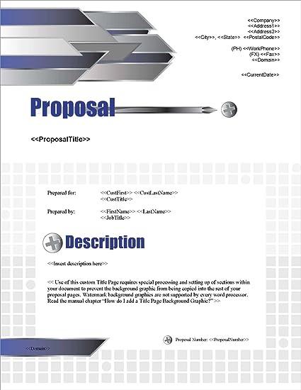 Amazon Com Proposal Pack Construction 1 Business