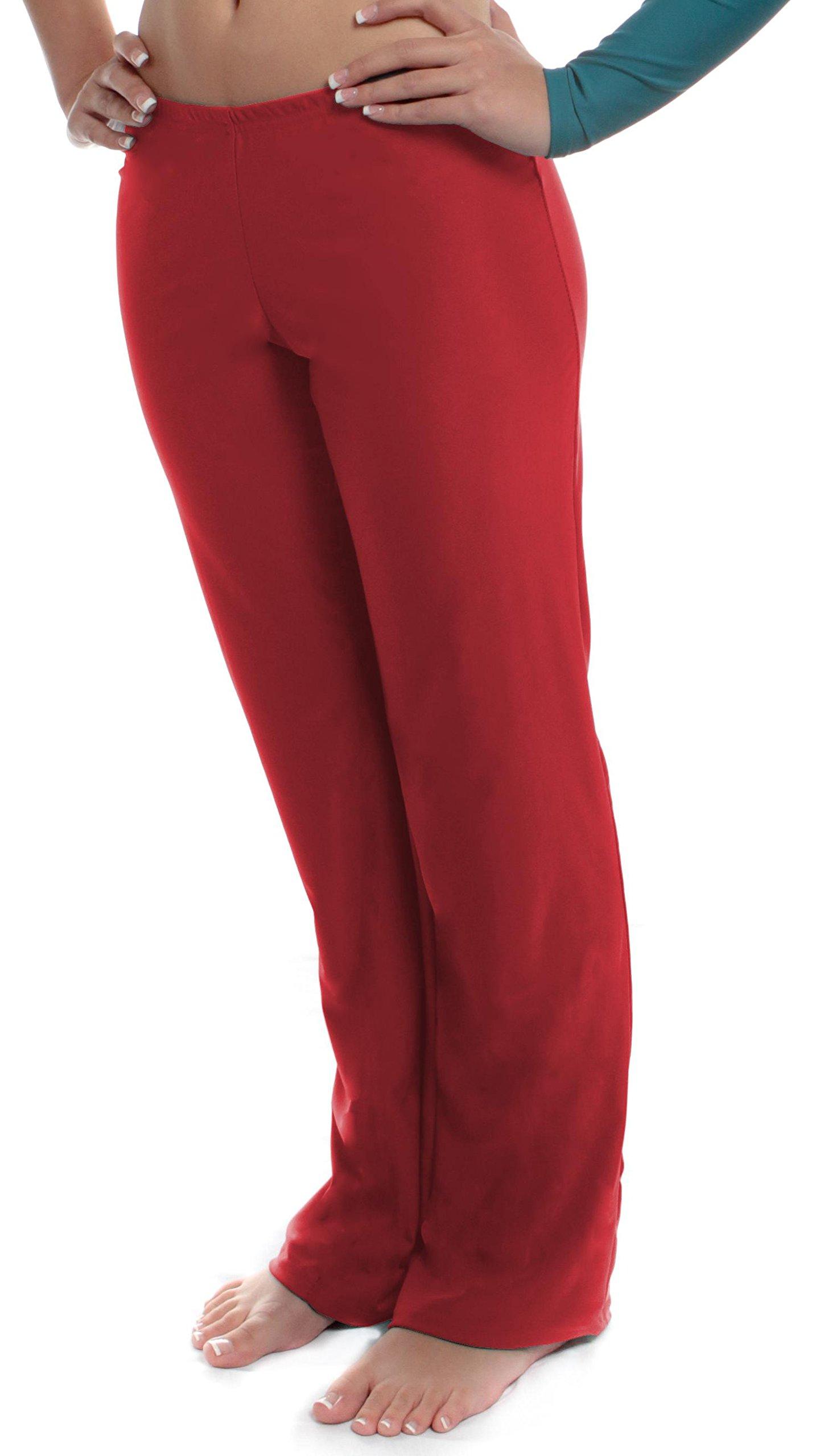 B Dancewear Girls Jazz Pants Medium Red Child and Kid Sizes by B Dancewear