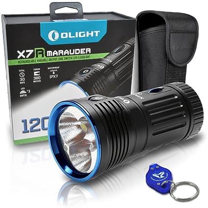 Amazon.com: Olight X7R Marauder 12000 lm LED con batería ...