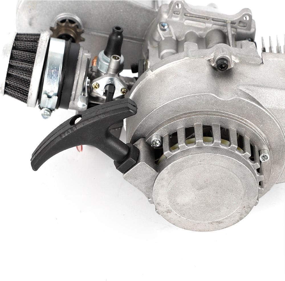 49cc 2 Stroke Pull Start Engine Motor Engine Transfer Motor Gear Box Air Filter Mini Pocket Dirt Bike ATV USA STOCK