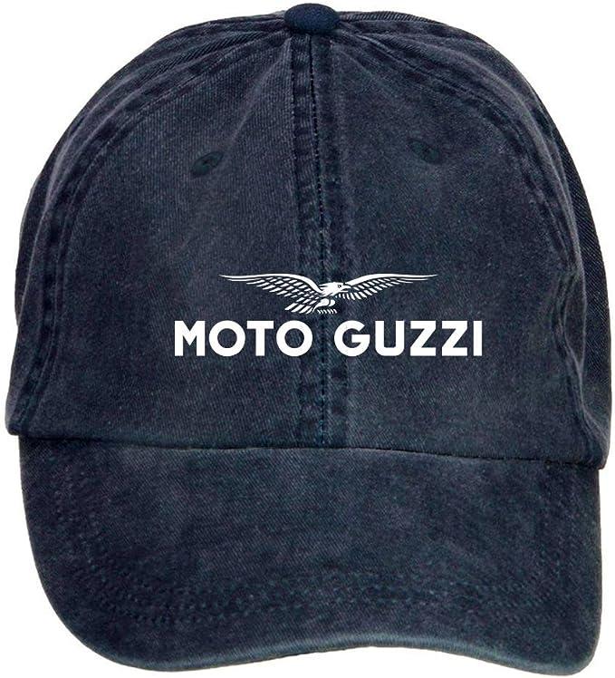 fengting moto GUZZI logo adulto algodón lavar Gorra de béisbol con ...