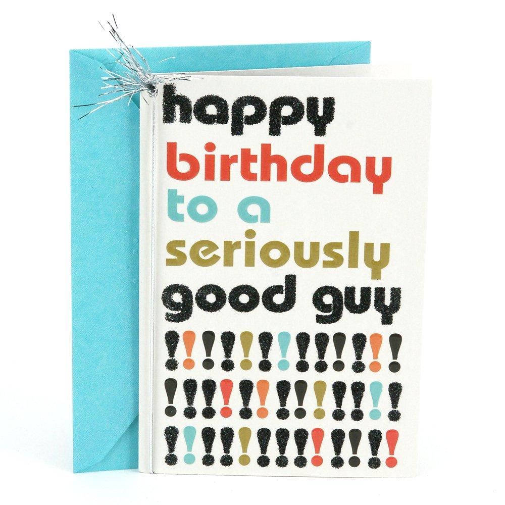 Amazon Hallmark Birthday Greeting Card For Him Good Guy