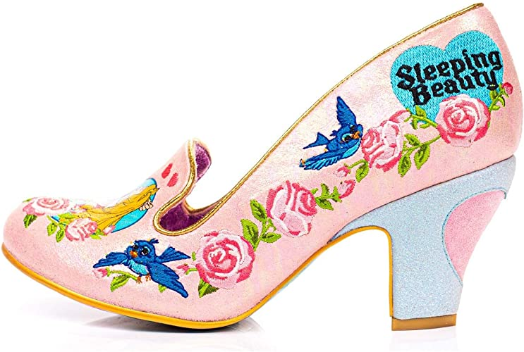 Irregular Choice /'/'One Kiss/'/' Black High Heel Shoes C