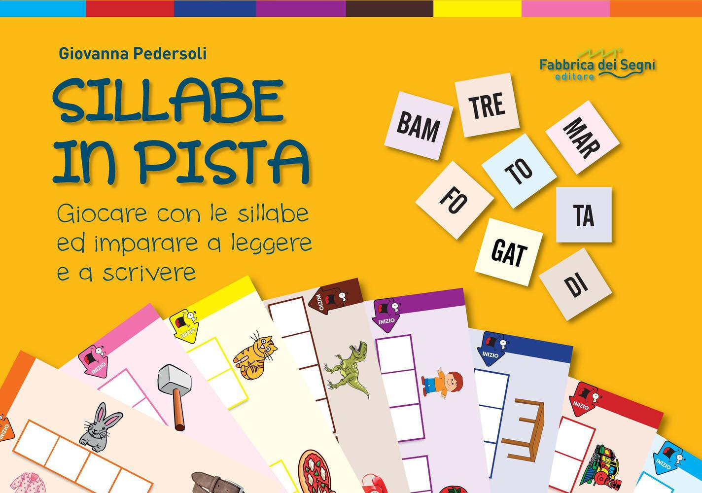 Amazon It Sillabe In Pista Giocare Con Le Sillabe Ed