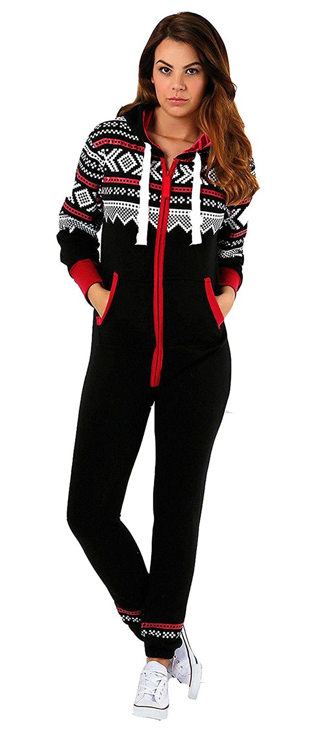 Juicy Trend Mujer Adulto Onesie Ropa de dormir Pijamas OnePiece - Mono para Mujer product image