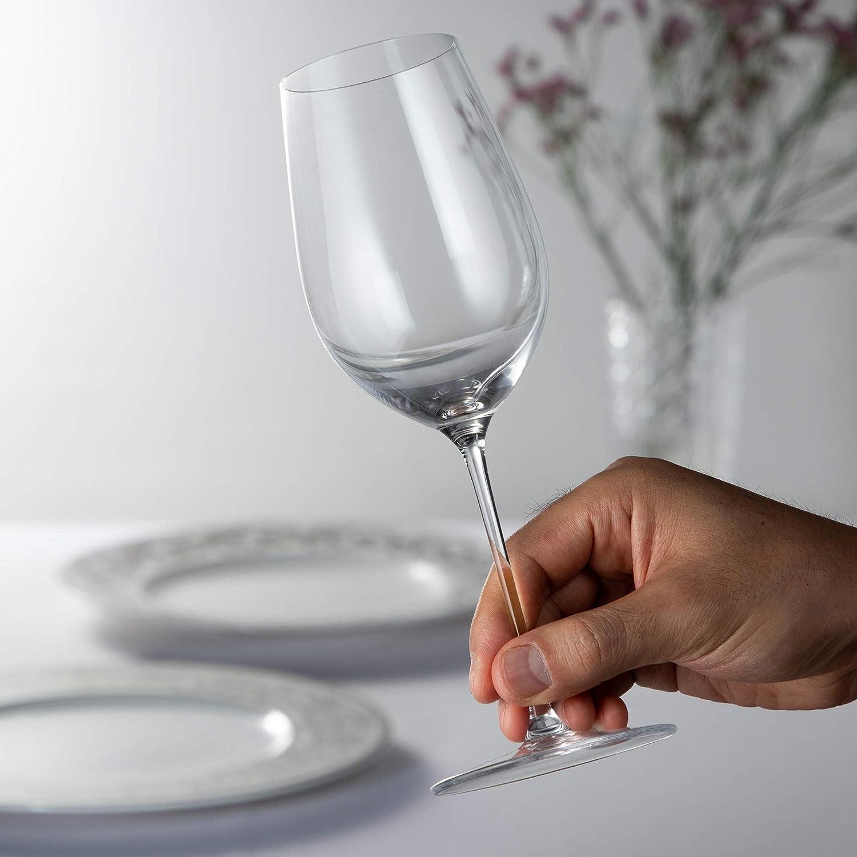 [正規品] RIEDEL リーデル ワイングラス ペアセット リーデル・ヴェリタス リースリング(赤)/ジンファンデル(白) 395ml 6449/15