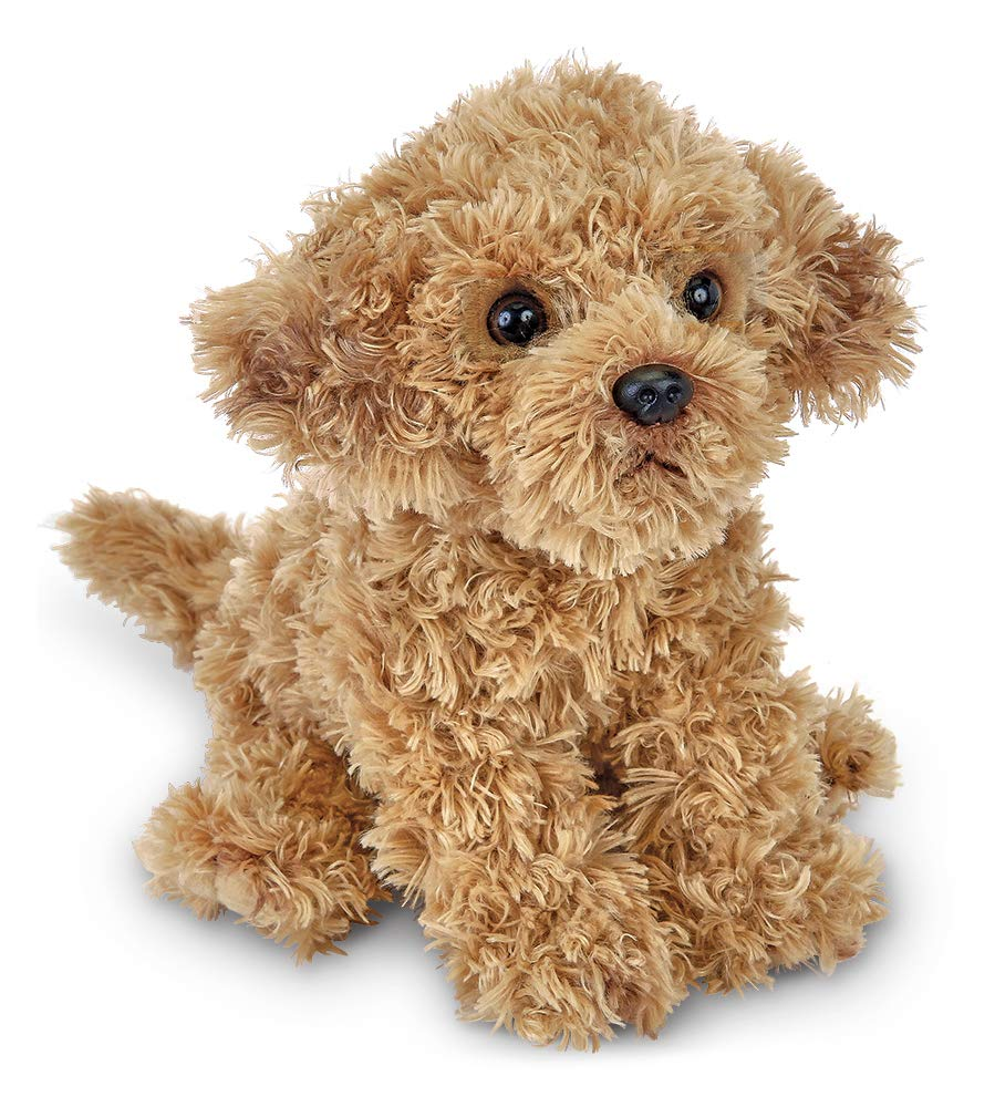 Bearington Doodles Labradoodle Plush Stuffed Animal Puppy Dog, 13 inches by Bearington Collection