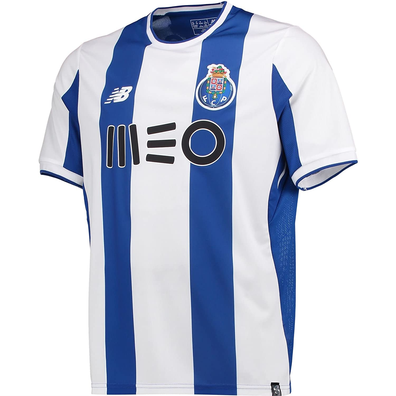 15aca6faafe New Balance FC Porto 17 18 - Maillot de Foot Réplique Domicile - Bleu Oporto