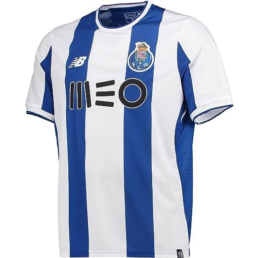 Amazon.com  New Balance Porto Home Soccer Stadium Jersey 2017-18  Sports    Outdoors 73eae1126