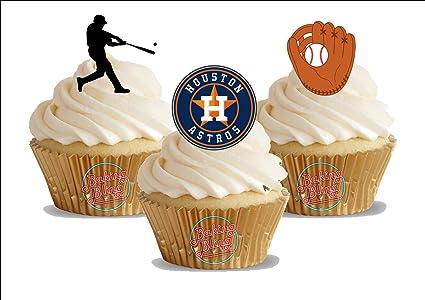 Amazon 12 X Baseball Houston Astros Mix
