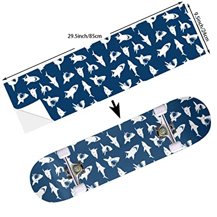 STREET FFX Skateboard Cruiser Deck and Balance Board Stickers Decals 9.5 x 33.5 Inches