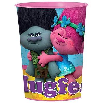 amscan Trolls 16oz Plastic Cup: Toys & Games