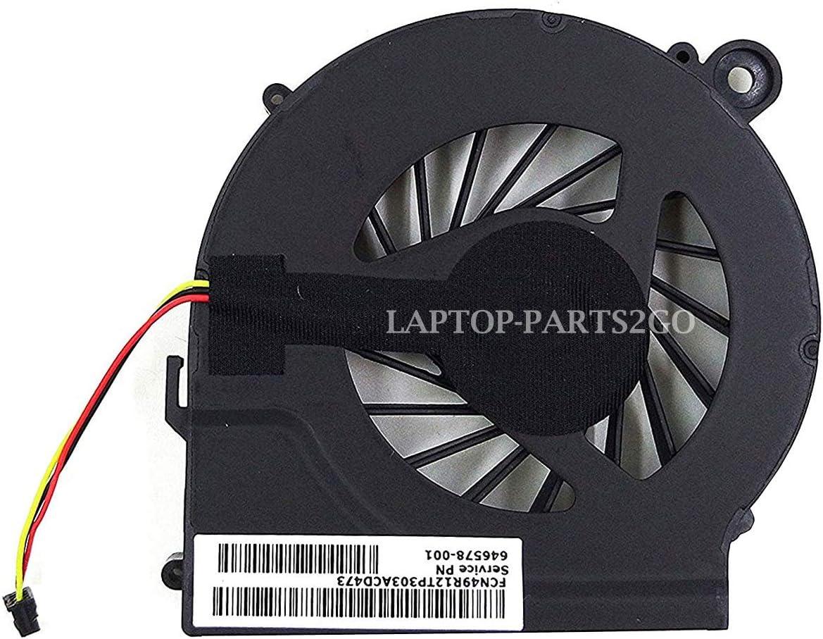 TB® Ventilador de refrigeración de repuesto para HP Pavilion G4 G6 G7 G42 G56 CQ42 CQ62 CQ56z Presario CQ62z G62z G62t Q72C Series parte # 646578-001