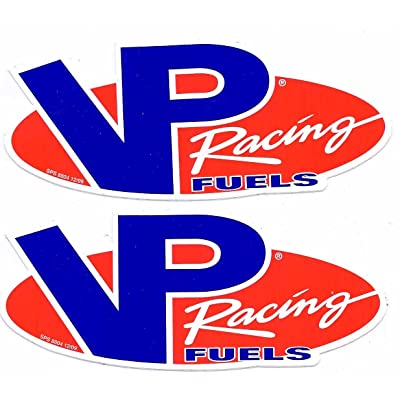 VP Fuels Racing Decals Stickers 6 Inches Long Size New Set of 2: Automotive