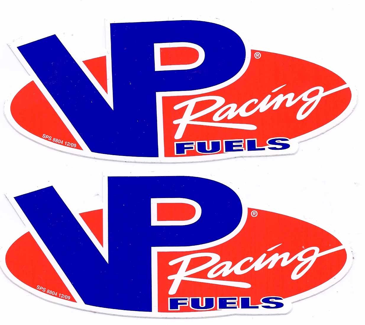 Amazon com vp fuels racing decals stickers 6 inches long size new set of 2 automotive