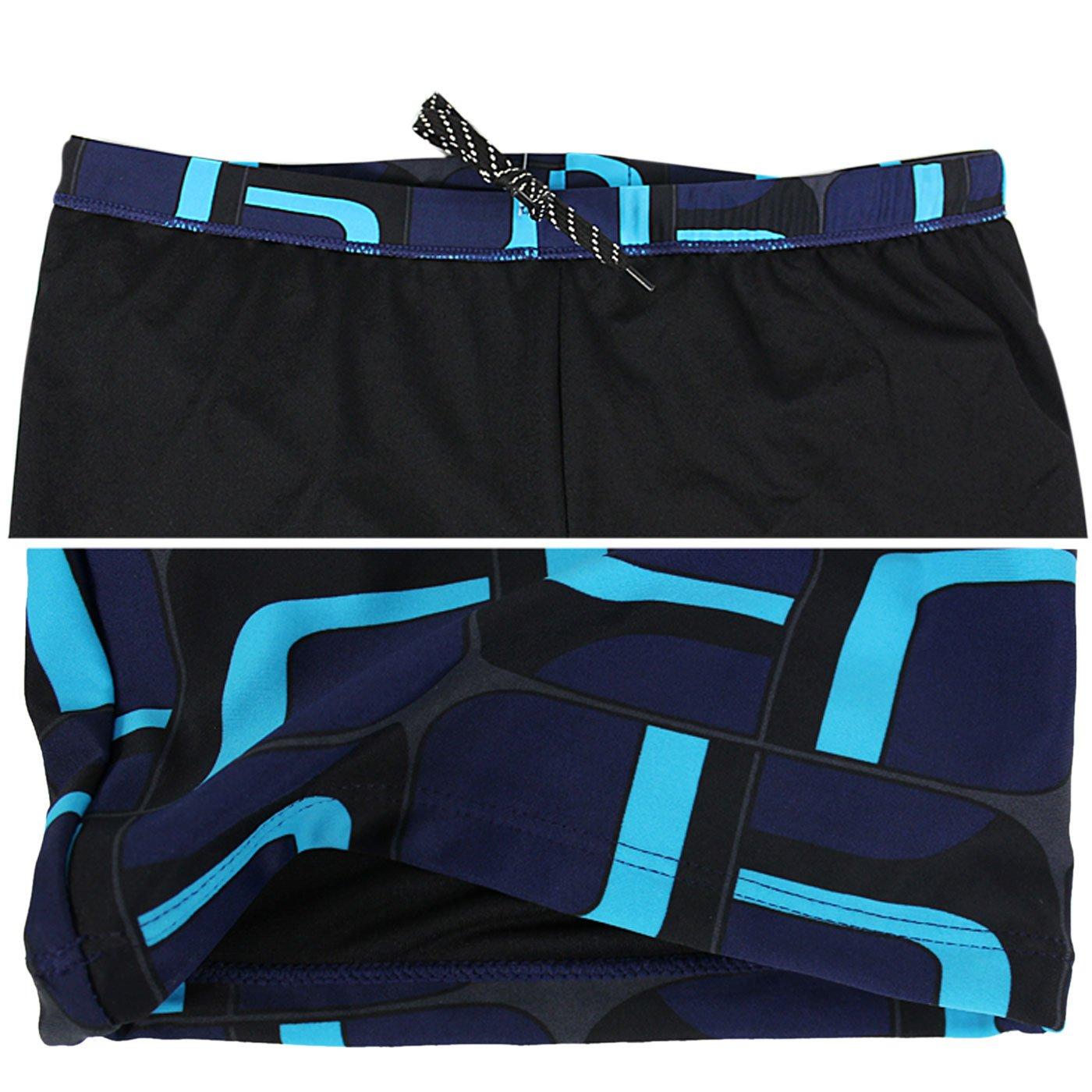 FEOYA Mens Durable Jammer Swimwear With Pockets